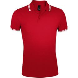 Oblečenie Muži Polokošele s krátkym rukávom Sols PASADENA MODERN MEN Rojo