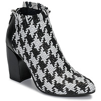Topánky Ženy Nízke čižmy Mimmu JESTINE Čierna / Biela
