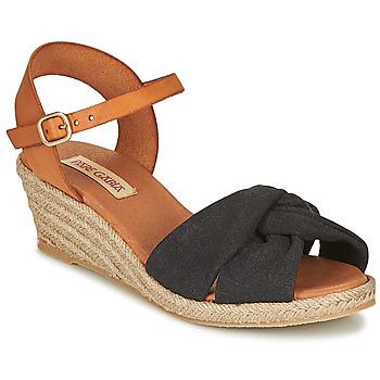 Topánky Ženy Sandále Pare Gabia BILMI Čierna / Hnedá