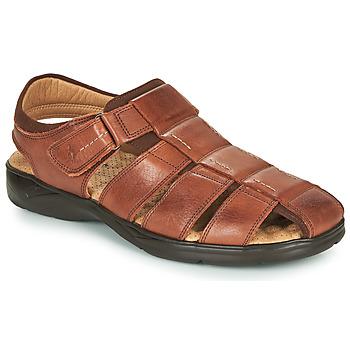 Topánky Muži Sandále Fluchos DOZER Hnedá