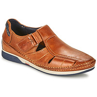 Topánky Muži Sandále Fluchos JAMES Hnedá / Námornícka modrá / Červená