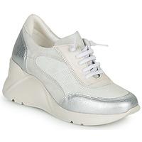 Topánky Ženy Nízke tenisky Hispanitas TOKIO Biela / Strieborná