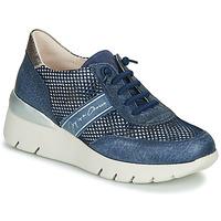 Topánky Ženy Nízke tenisky Hispanitas RUTH Modrá / Zlatá / Strieborná