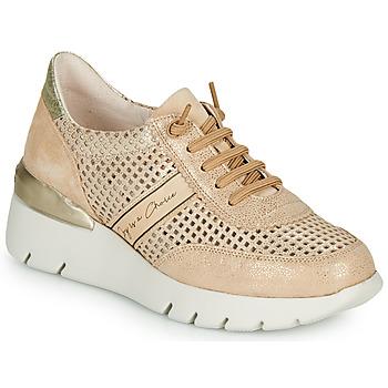 Topánky Ženy Nízke tenisky Hispanitas RUTH Ružová / Zlatá / Biela