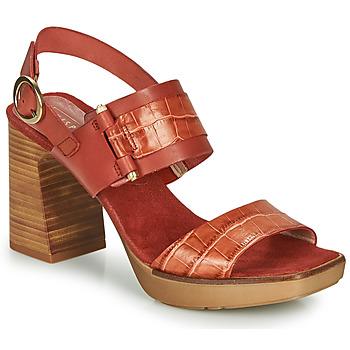 Topánky Ženy Sandále Hispanitas PETRA Hnedá