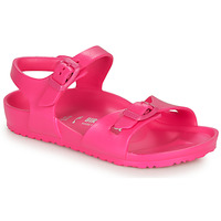 Topánky Dievčatá Sandále Birkenstock RIO EVA Ružová