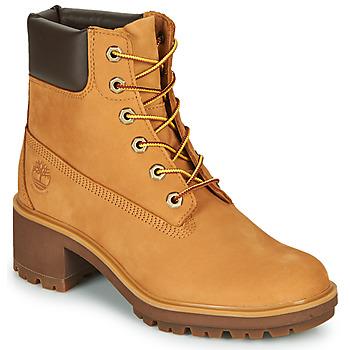Topánky Ženy Čižmičky Timberland KINSLEY 6 IN WP BOOT Žltá obilná