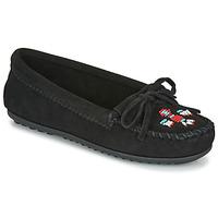Topánky Ženy Mokasíny Minnetonka THUNDERBIRD II Čierna