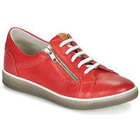 Topánky Ženy Nízke tenisky Dorking KAREN Červená / Béžová
