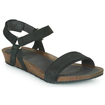 Topánky Ženy Sandále Teva MAHONIA STITCH Čierna