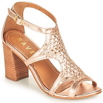Topánky Ženy Sandále Ravel COREEN Ružová / Zlatá