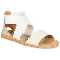 Topánky Ženy Sandále Sorel ELLA SANDAL Biela / Béžová