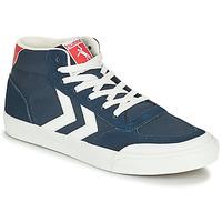 Topánky Muži Členkové tenisky Hummel STADIL 3.0 CLASSIC HIGH Modrá