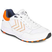 Topánky Muži Nízke tenisky Hummel 3-S SPORT Biela / Oranžová
