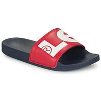 Topánky Muži športové šľapky Levi's JUNE L Modrá / Červená