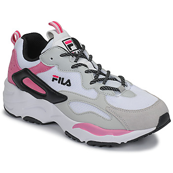 Topánky Ženy Nízke tenisky Fila RAY TRACER CB WMN Biela / Ružová