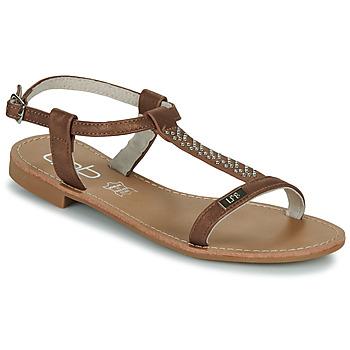 Topánky Ženy Sandále Les Petites Bombes EMILIE Ťavia hnedá