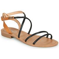 Topánky Ženy Sandále Les Petites Bombes EDEN Čierna