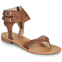 Topánky Ženy Sandále Les Petites Bombes CAMEL Ťavia hnedá