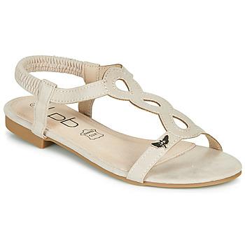 Topánky Ženy Sandále Les Petites Bombes FLORA Béžová