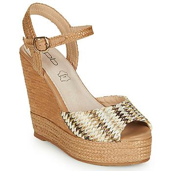 Topánky Ženy Sandále Les Petites Bombes PAOLA Béžová