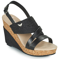 Topánky Ženy Sandále Les Petites Bombes MELINE Čierna