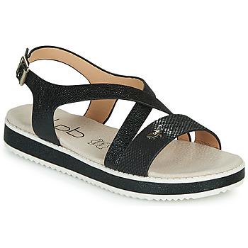 Topánky Ženy Sandále Les Petites Bombes MARIA Čierna
