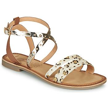 Topánky Ženy Sandále Les Petites Bombes AGATHE Zlatá