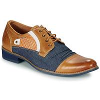 Topánky Muži Derbie Kdopa JONES Ťavia hnedá / Modrá