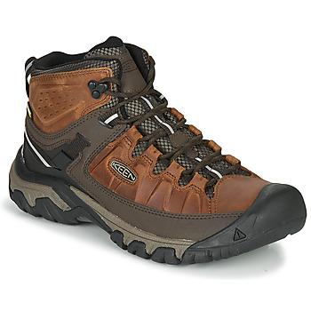 Topánky Muži Turistická obuv Keen TARGHEE III MID WP Hnedá