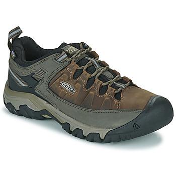 Topánky Muži Turistická obuv Keen TARGHEE III WP Hnedá
