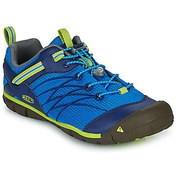 Topánky Chlapci Športové sandále Keen CHANDLER CNX Modrá / Zelená