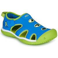 Topánky Deti Športové sandále Keen STINGRAY Modrá / Zelená