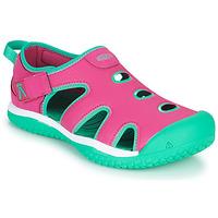Topánky Dievčatá Športové sandále Keen STINGRAY Fialová  / Modrá