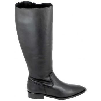 Topánky Čižmy Porronet Botte Bost Noir Čierna