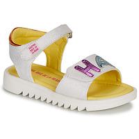 Topánky Dievčatá Sandále Agatha Ruiz de la Prada SMILES Biela