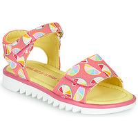 Topánky Dievčatá Sandále Agatha Ruiz de la Prada SMILES Ružová / Viacfarebná