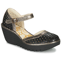 Topánky Ženy Lodičky Fly London YVEN Čierna / Bronzová