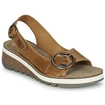 Topánky Ženy Sandále Fly London TRAM2 FLY Ťavia hnedá