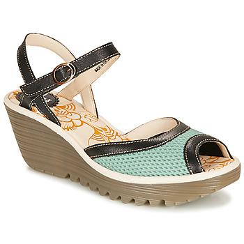 Topánky Ženy Sandále Fly London YANS Modrá / Čierna