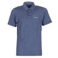 Oblečenie Muži Polokošele s krátkym rukávom Columbia TECH TRAIL POLO Modrá