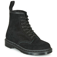 Topánky Polokozačky Dr Martens 1460 MONO SOFT BUCK Čierna