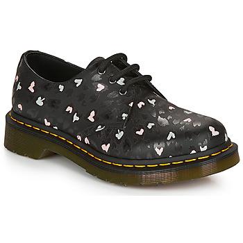 Topánky Ženy Derbie Dr Martens 1461 HEARTS Čierna