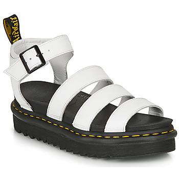 Topánky Ženy Sandále Dr Martens BLAIRE HYDRO Biela