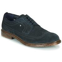 Topánky Muži Derbie Base London ONYX Námornícka modrá
