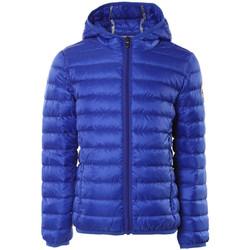 Oblečenie Deti Vyteplené bundy JOTT Hugo doudoune manche longue capuche Modrá