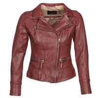 Oblečenie Ženy Kožené bundy a syntetické bundy Oakwood CAMERA Červená