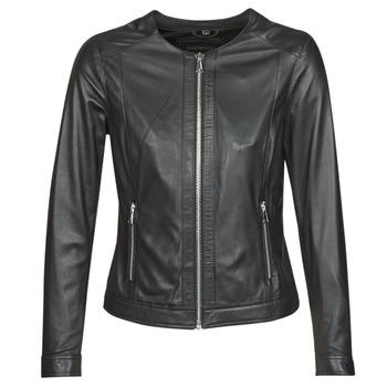 Oblečenie Ženy Kožené bundy a syntetické bundy Oakwood PLEASE Čierna