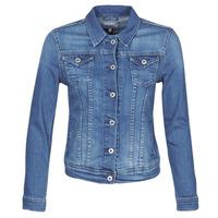 Oblečenie Ženy Džínsové bundy Pepe jeans THRIFT Modrá / Medium