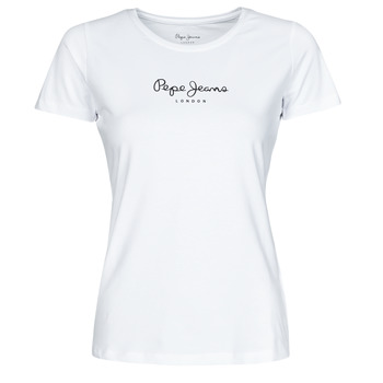 Oblečenie Ženy Tričká s krátkym rukávom Pepe jeans NEW VIRGINIA Biela